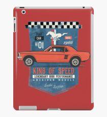 Ford Mustang - King Of Speed iPad-Hülle & Klebefolie