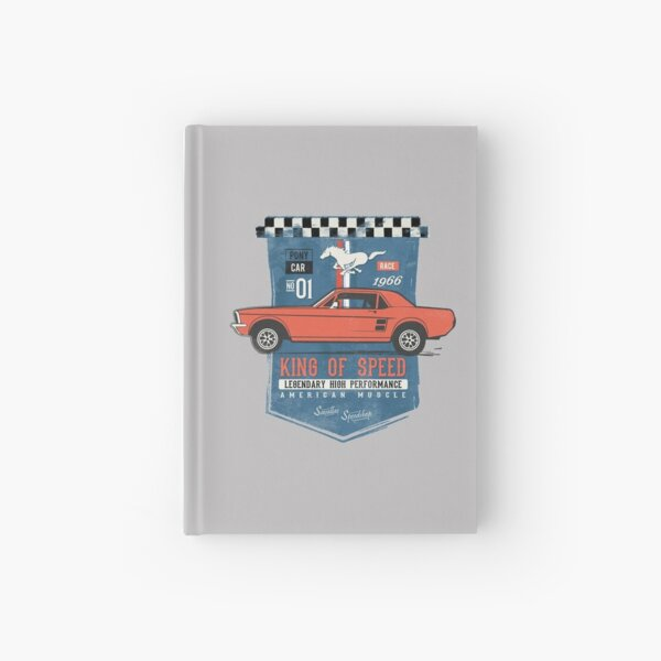 Ford Mustang - King of Speed Hardcover Journal