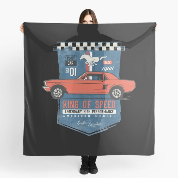 Ford Mustang - King of Speed Scarf