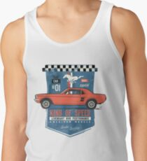Ford Mustang - King Of Speed Tank Top