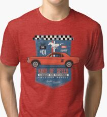 Ford Mustang - King Of Speed Vintage T-Shirt