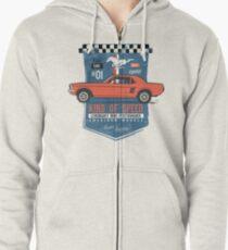 Ford Mustang - King Of Speed Hoodie mit Reißverschluss