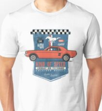 Ford Mustang - King Of Speed Unisex T-Shirt