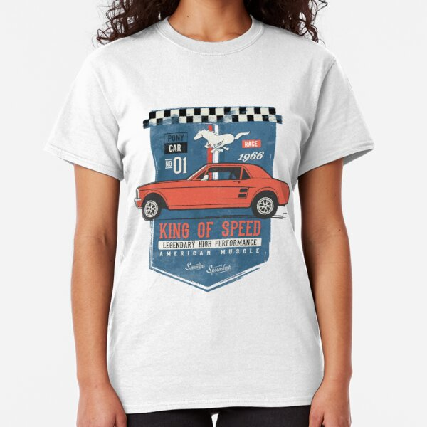 Ford Mustang - King Of Speed Classic T-Shirt