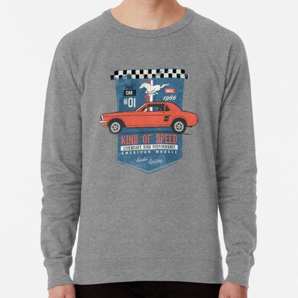 Ford Mustang - King of Speed Lightweight Sweatshirt