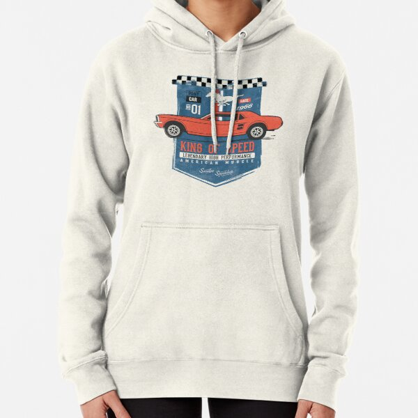 Ford Mustang - King of Speed Pullover Hoodie