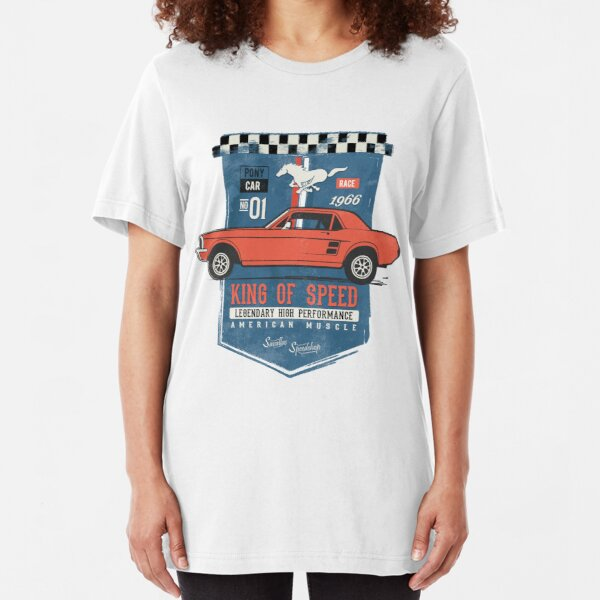 Ford Mustang - King of Speed Slim Fit T-Shirt