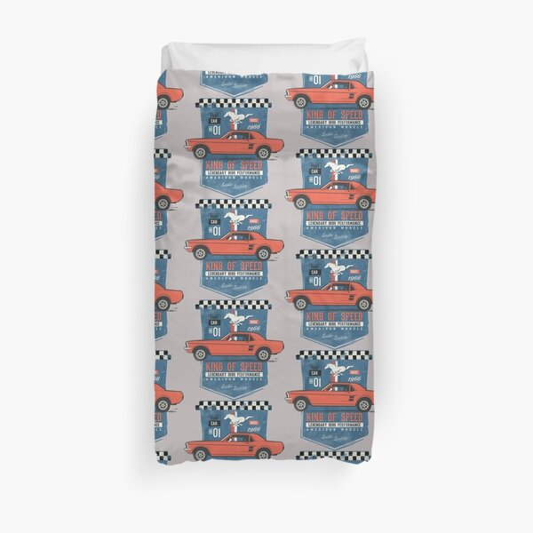 Ford Mustang - King of Speed Duvet Cover