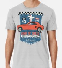 Ford Mustang - King Of Speed Männer Premium T-Shirts