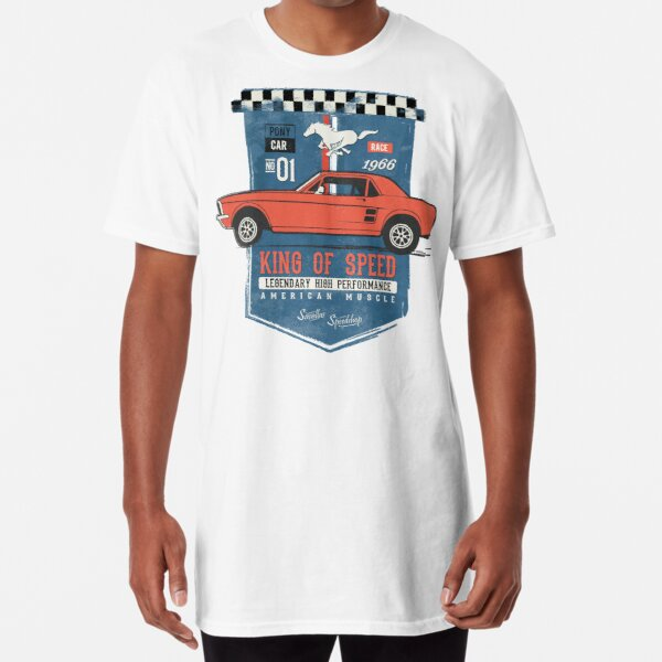 Ford Mustang - King of Speed Long T-Shirt