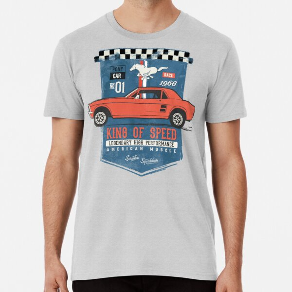 Ford Mustang - King of Speed Premium T-Shirt