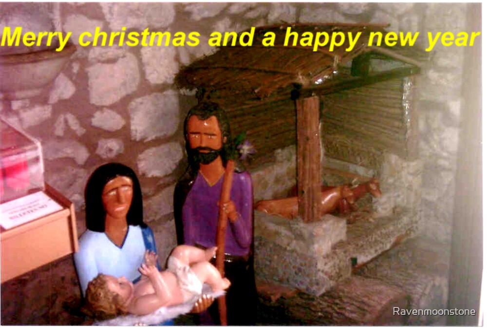 The christmas scene by Ravenmoonstone