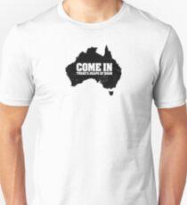 F@#k off, bogans. Unisex T-Shirt