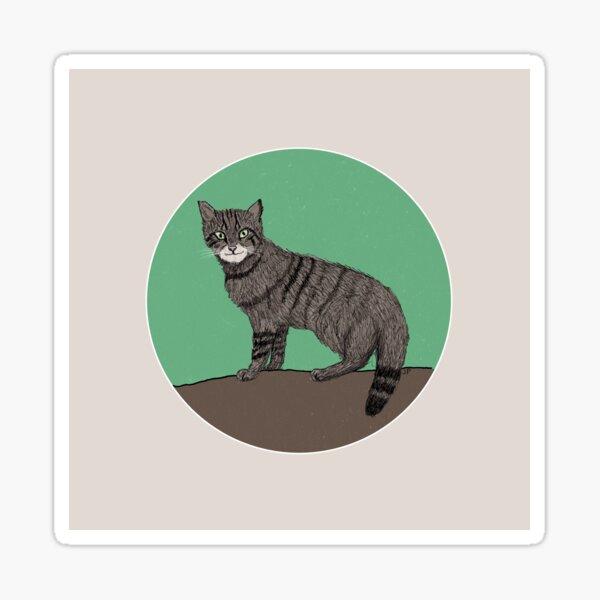 Scottish Wildcat Sticker