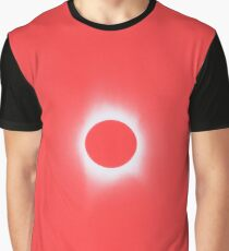 Solar Eclipse, Saros cycle in red candy color Graphic T-Shirt