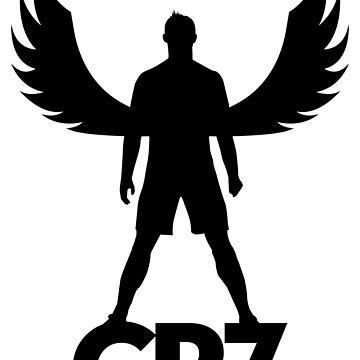 CR7 angel black by pvdesign