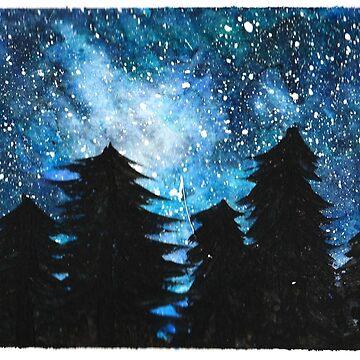 Galaktischer Himmel von yunnn