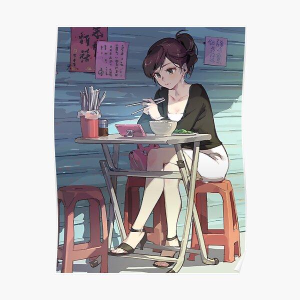 Ramen With Sensei Poster