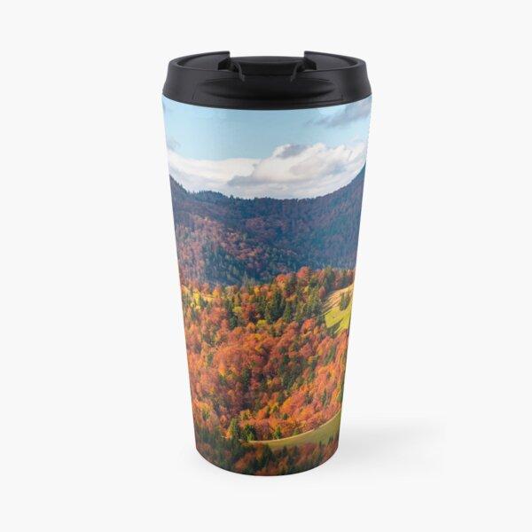 rural countryside in autumn Travel Mug