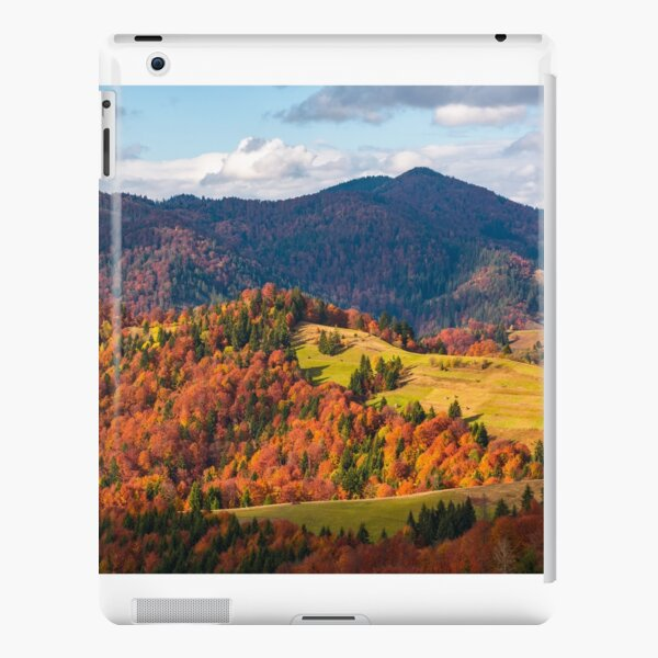 rural countryside in autumn iPad Snap Case