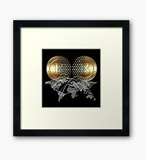 Bitcoin Concept Framed Print