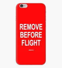 Remove Before Flight® by Airlines Originals® iPhone-Hülle & Cover