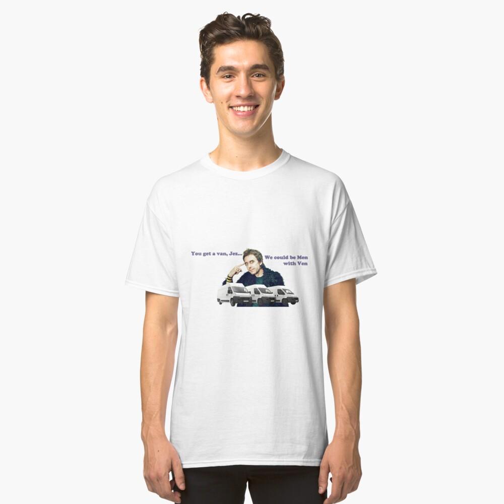 Hombres con Ven - Peep Show SuperHans Camiseta clásica