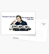 Men with Ven - Peep Show SuperHans Postcards