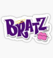 Bratz doll logo Sticker