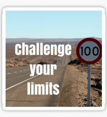 Challenge Your Limits Sticker