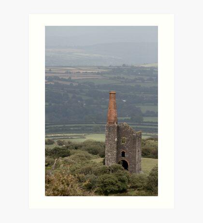 View Over Bodmin Moor Art Print