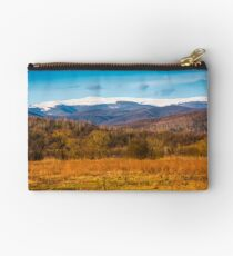 beautiful springtime scenery in mountains Studio Pouch
