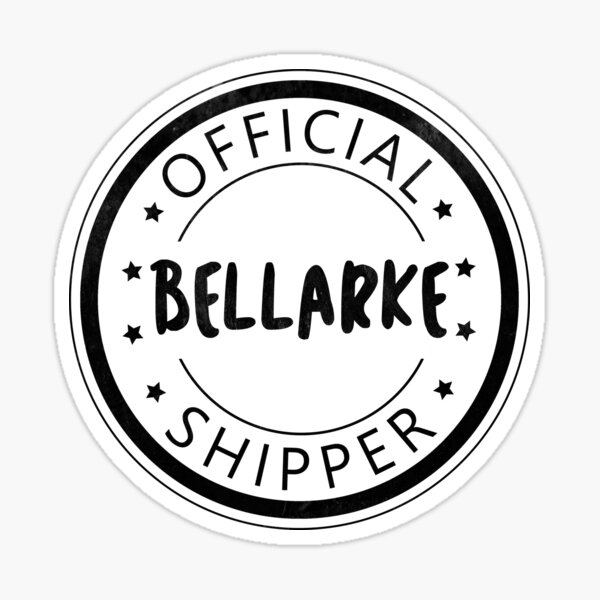 Bellarke Shipper Sticker
