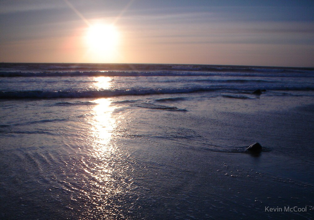 beach sunset by Kevin McCool