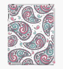 Playful paisley with white background iPad Case/Skin