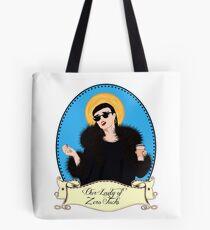 Our Lady of Zero Fucks Tote Bag