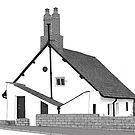 Sir John Barrow Cottage by Colin Bentham