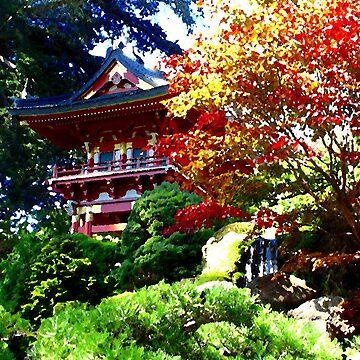 Japenese garden by kevmccool