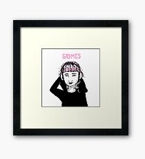 Grimes Framed Print