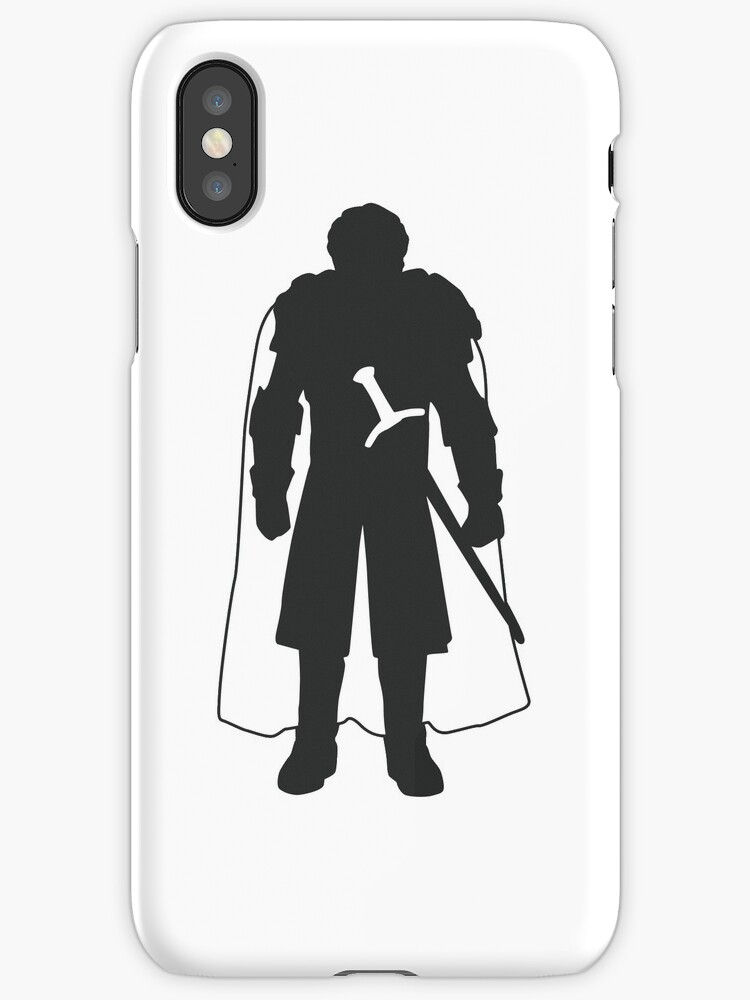 Robb Stark - Game of Thrones Silhouette  by ComedyQuotes