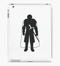 Robb Stark - Game of Thrones Silhouette  iPad Case/Skin