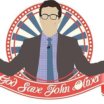 God save John Oliver by Titmoff