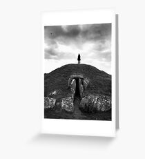 """Bryn Celli Ddu"" Greeting Card"
