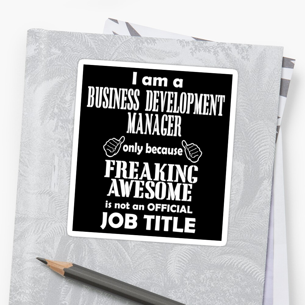 Business Development Manager By Danielog199