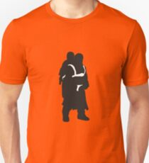 Hodor and Brann - Game of Thrones Silhouette T-Shirt