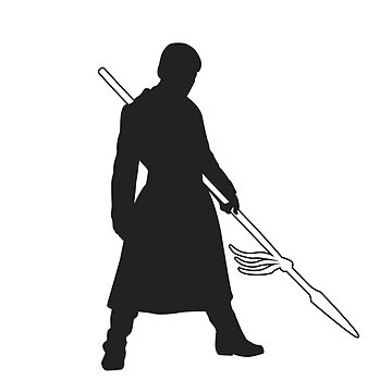 Prince Oberyn - Game of Thrones Silhouette by ComedyQuotes