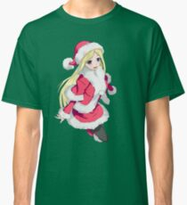 Bishamon from noragami wearing christmas clothes Classic T-Shirt