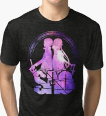 SAO - mix colors Tri-blend T-Shirt