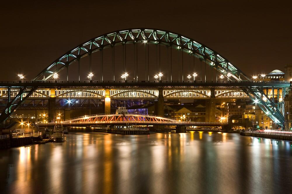 Tyne Bridge by Kerry Lunt