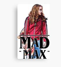 Mad Max Stranger Things Canvas Print